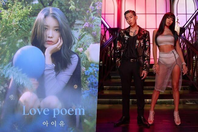 Jessi e Jay Park e iu KPOP - Grupos que Regressam em Novembro 2019