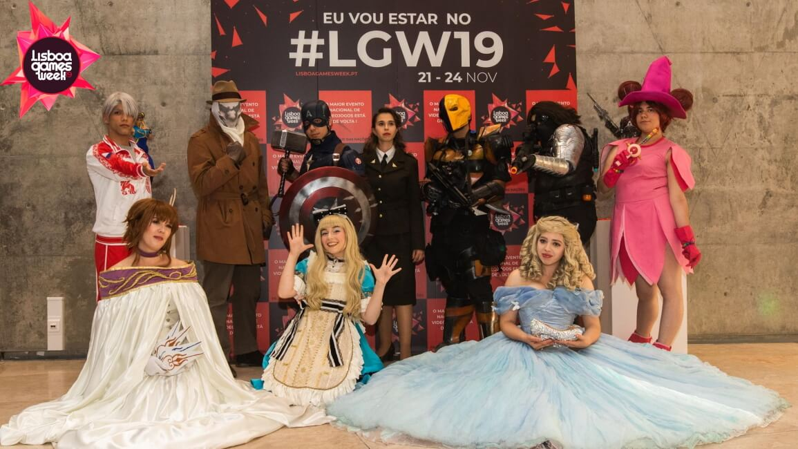 Lisboa Games Week 2019 - A Cultura Pop Asiática Marca Presença no Evento - Cosplay