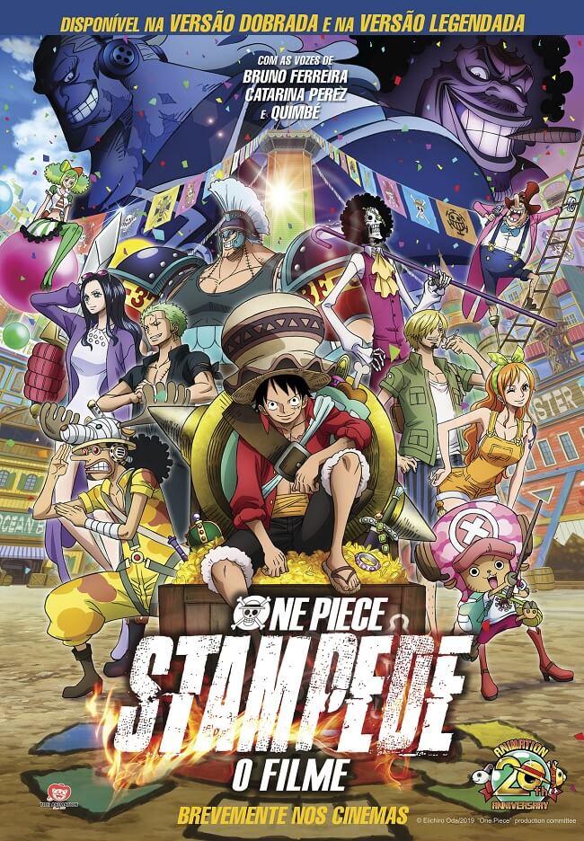 One Piece Stampede - BIGGS divulga Excertos do Filme em Português Calendário de Eventos Janeiro 2020