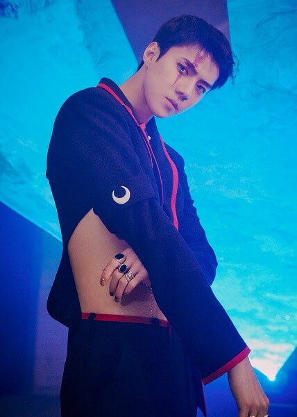"EXO - Sehun em Teasers para ""Obsession"""