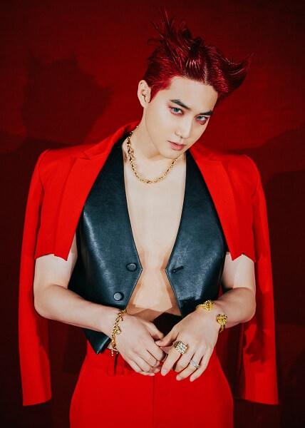 "EXO - Suho em Teasers de ""Obsession"""