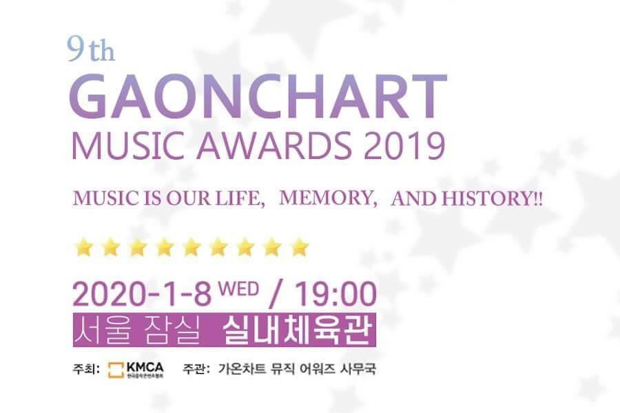 Vencedores nos 9º Gaon Chart Music Awards