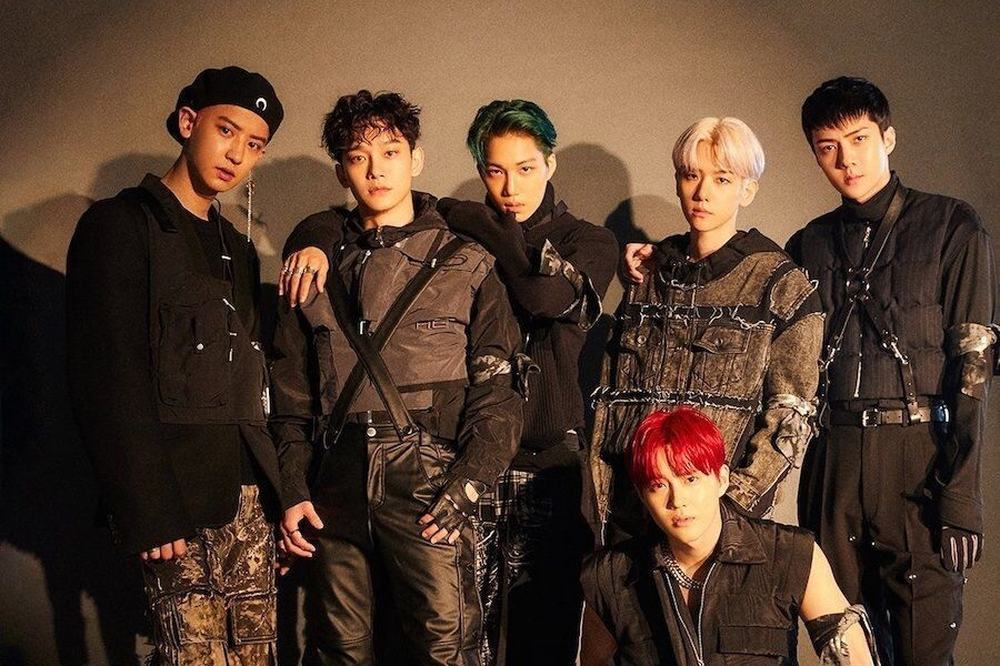"EXO dominam as tabelas do iTunes com ""Obsession"""