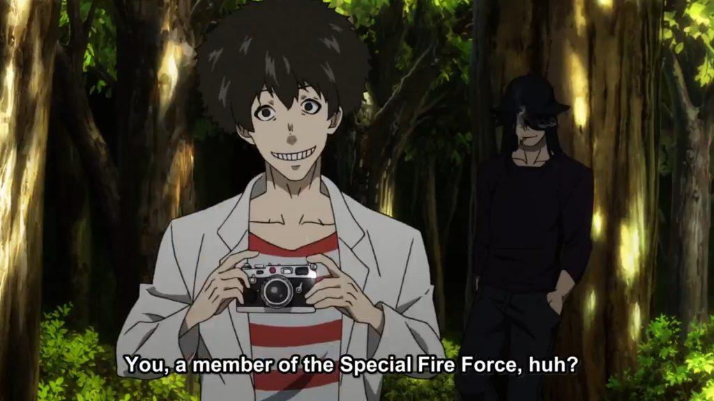 Fire Force - Viktor e Joker relação