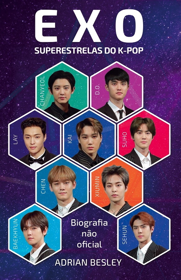 ASA publica Livro EXO - Superestrelas do K-Pop poster oficial