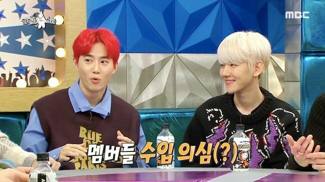 EXO revelam quais os Membros que Mais e Menos recebem