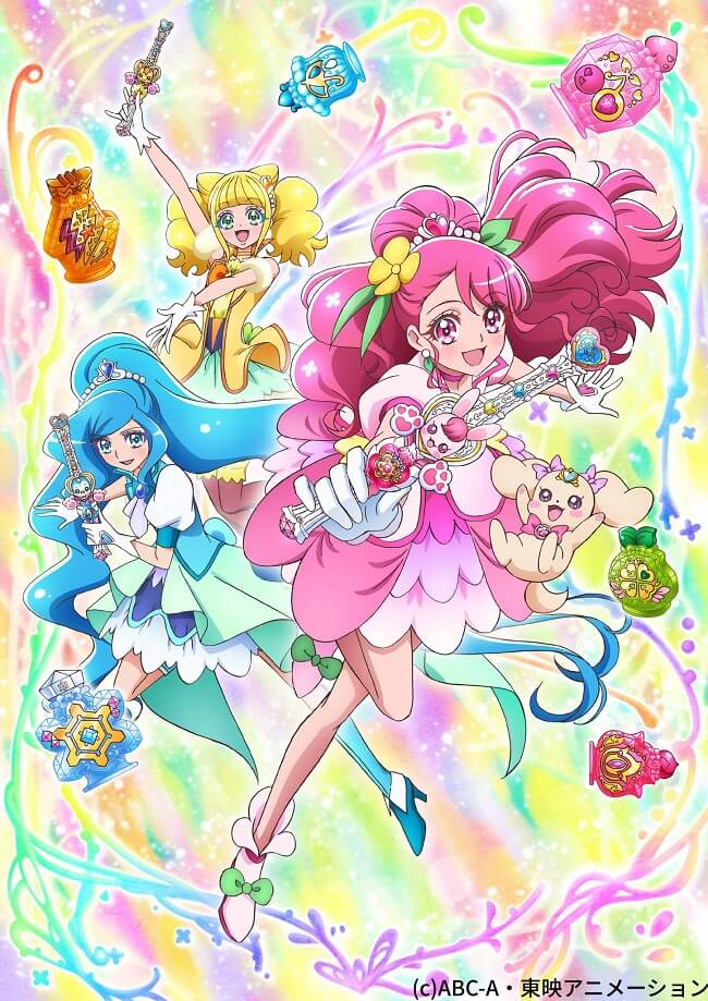 Healin' Good Precure - Anime revela Vídeo e Estreia