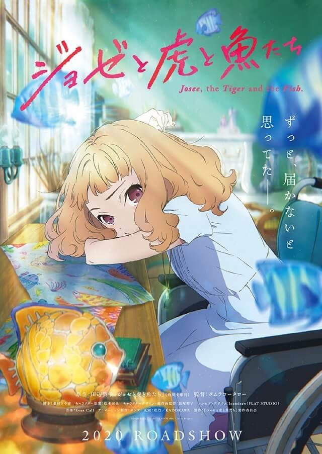 Josee to Tora to Sakana-tachi - História recebe Filme Anime