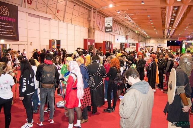 Lisboa Games Week com Cosplayers Internacionais