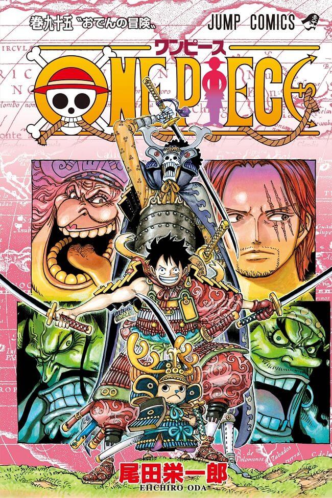 Capa Manga One Piece Volume 95 - Wano Arc