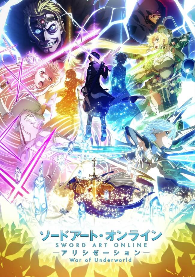 SAO Alicization War of Underworld -'Última Temporada' em Abril 2020