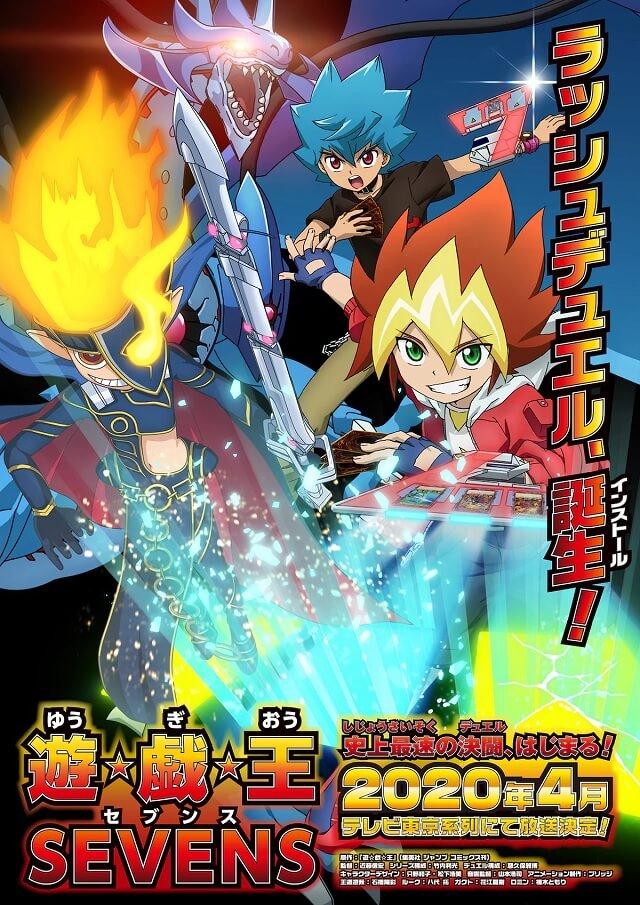 Yu-Gi-Oh! Sevens - Novo Anime revela Estreia