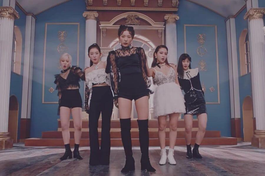 "Red Velvet atingem All Kill Certificado com ""Psycho"""