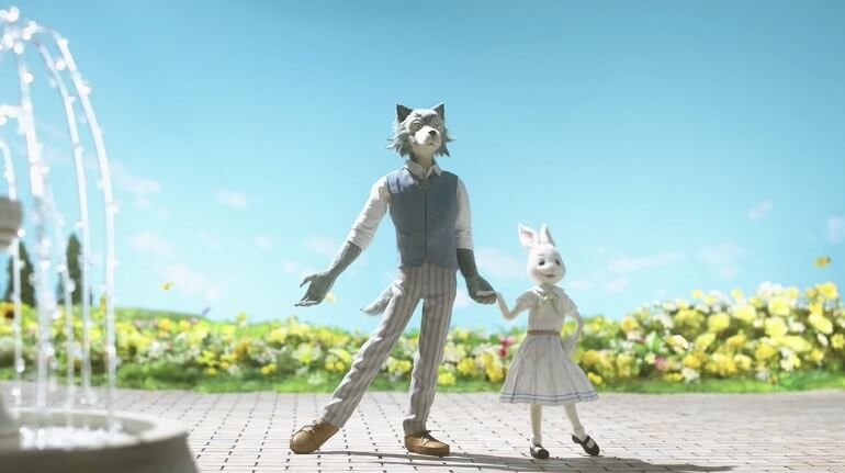 BEASTARS – NETFLIX REVELA ESTREIA OCIDENTAL DO ANIME
