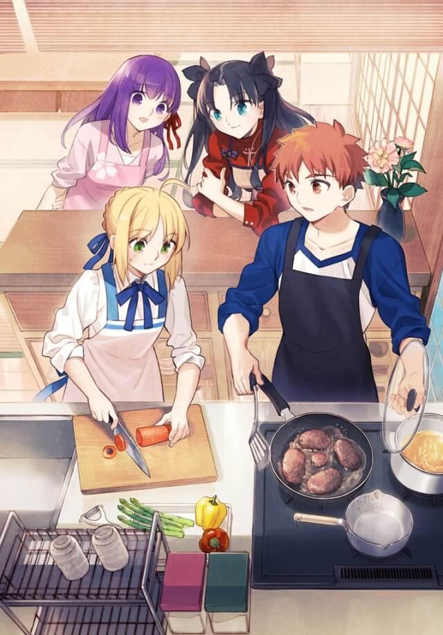 Fate Series recebe Jogo de Culinária