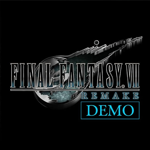 Final Fantasy VII Remake - Demo Leak Explicada - Ícone da demo PSN Store