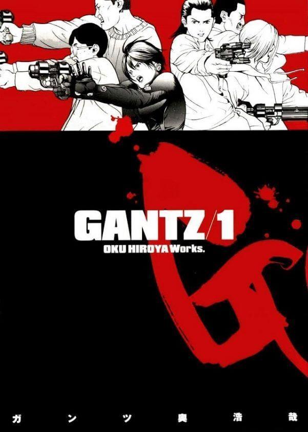 Capa volum 1 manga gantz