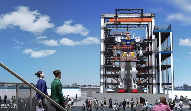 Construção de um Gundam na vida real