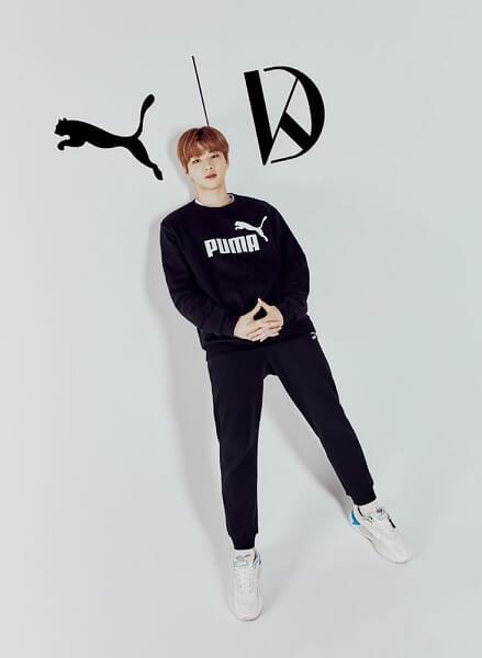 Kang Daniel anunciado como Modelo da Puma Coreia