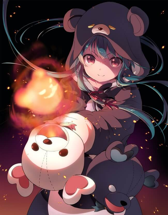 Kuma Kuma Kuma Bear - Light Novels recebem Anime