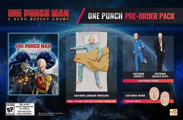 One Punch Man: A Hero Nobody Knows revela Novas Personagens