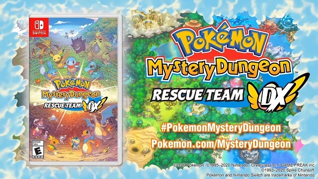 Pokémon Mistery Dungeon Rescue Team DX Revelado!
