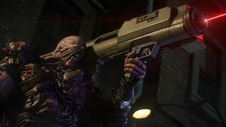 Resident Evil 3 revela Trailer de Nemesis