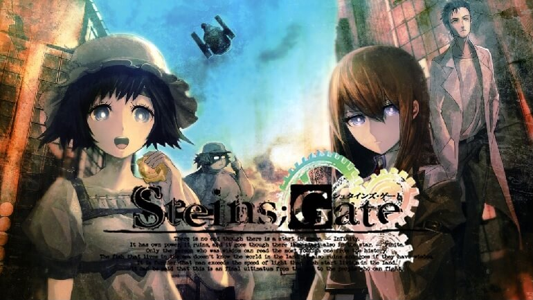 STEINS GATE – VISUAL NOVEL RECEBE LIVE-ACTION