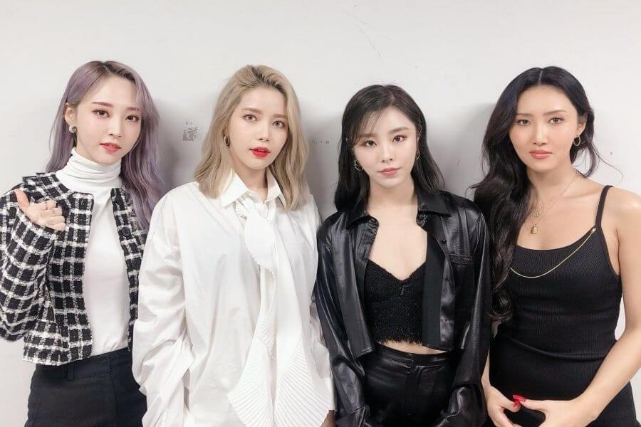 MAMAMOO - Agência anuncia Mais Ações Legais Top Girl Groups Mais Reputados de Abril 2020