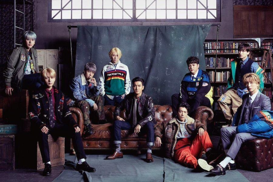 "Super Junior no Topo da Tabela da Oricon com ""I Think U"""