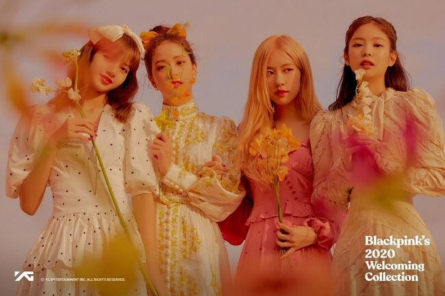 "BLACKPINK lançarão Photobook ""2020 Welcoming Collection"""
