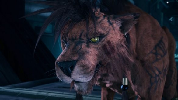 Final Fantasy VII Remake Red XIII cutscene in game