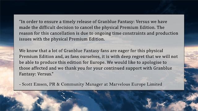 Granblue Fantasy: Versus revela Data de Estreia na Europa