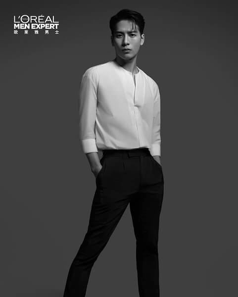 Jackson Embaixador da linha de Skin Care da L'Oréal