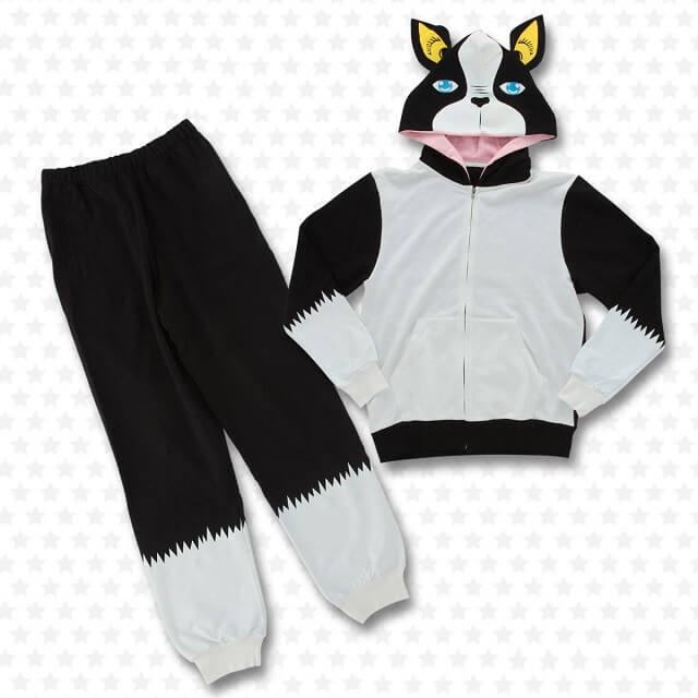 Coleção de Jojo Bizarre Adventure roupas de Iggy fato de treino combo