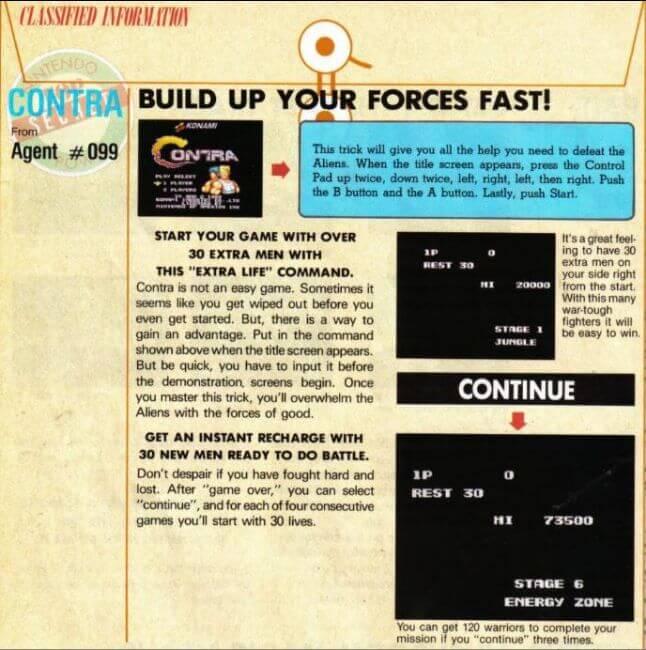 Contra - Konami Code