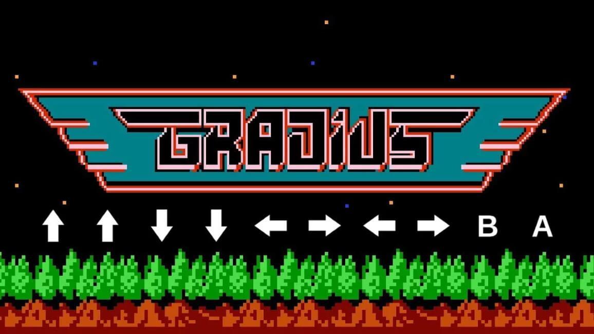 Gradius - Konami Code