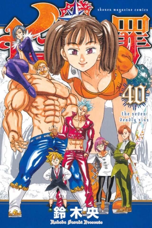 Nanatsu no Taizai - Manga Termina na próxima semana
