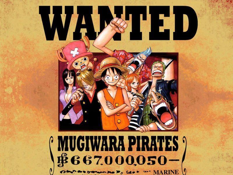 One Piece - Poster de Procurado