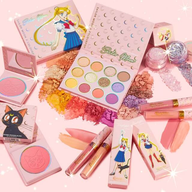 Sailor Moon recebe Linha de Maquilhagem pela ColourPop