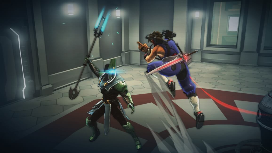 Strider (2014) – Hiryu a combater contra soldado
