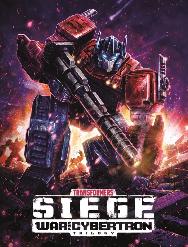 Transformers War for Cybertron Trilogy Siege recebe Trailer