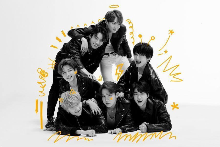 """BTS - Estrelas de Banda Desenhada em Fotos de Conceito BTS revelam Lista de Músicas para Álbum """"Map of the Soul: 7"""""""