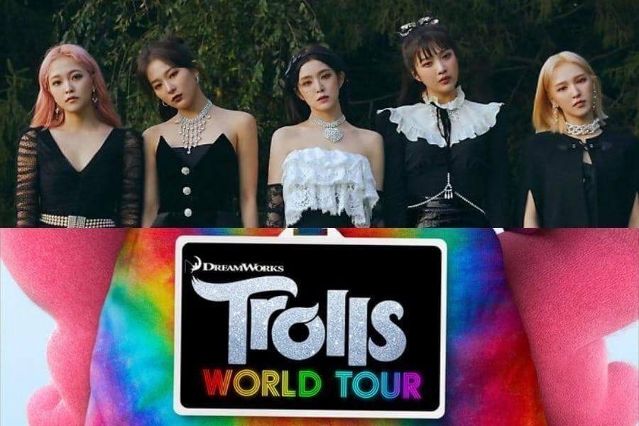 """Red Velvet apresentam Personagens de """"Trolls: World Tour"""" Wendy das Red Velvet e Rowoon dos SF9 dão voz a """"Trolls: World Tour"""""""