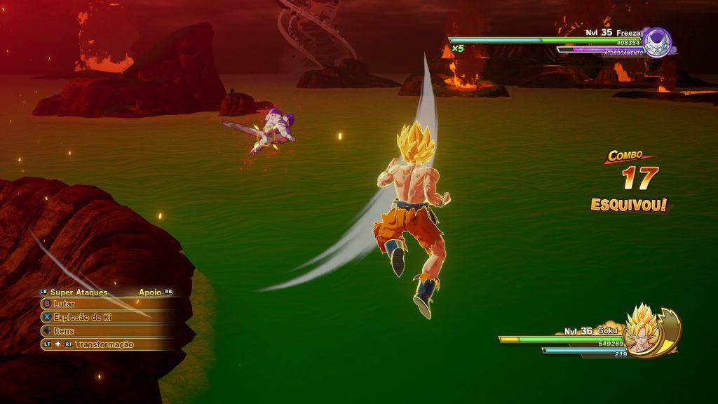 Dragon Ball Z: Kakarot Goku Ssj Freeza