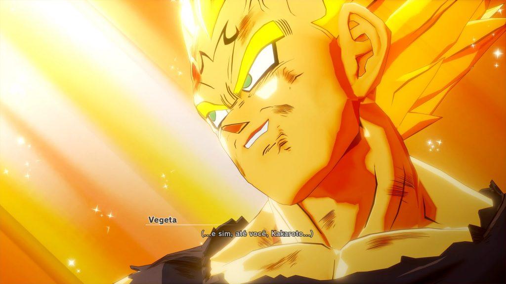 Dragon Ball kakarot Sacrificio Vegeta
