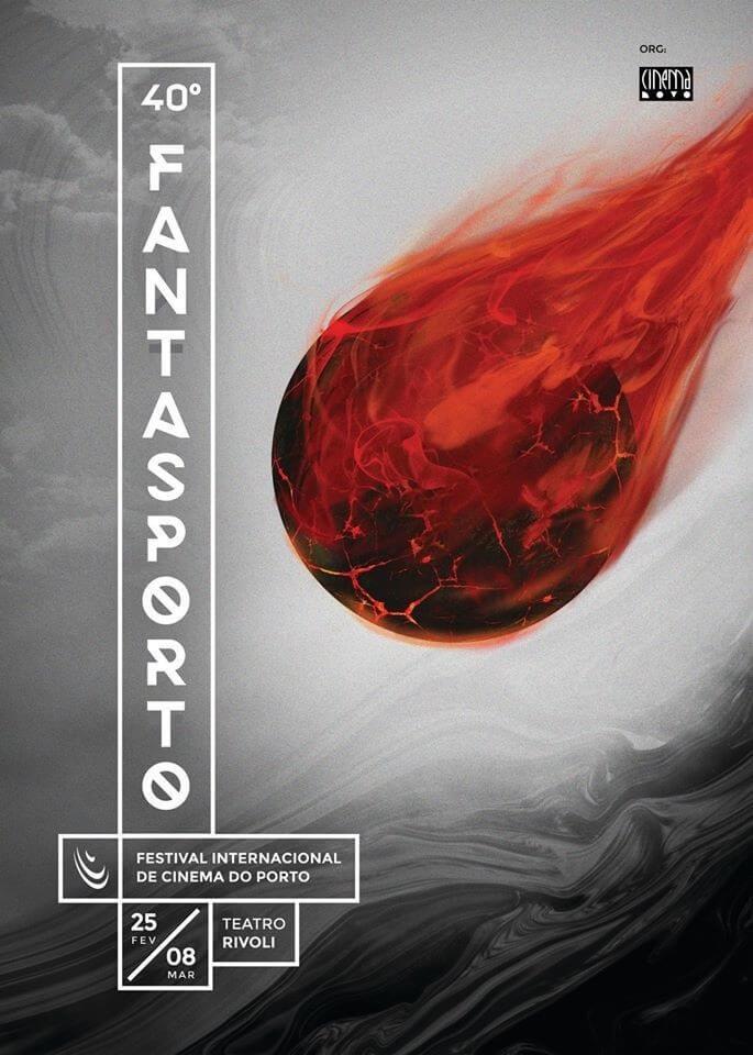 fantasporto 2020 40 edição poster oficial festival Fantasporto 2020 - A Representação Japonesa, Coreana e Chinesa