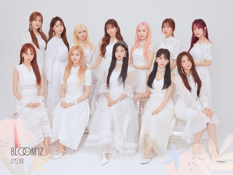 CJ ENM - Conversações sobre IZ*ONE no KCON Japão 2020 Top Grupos Mais Reputados de Junho 2020