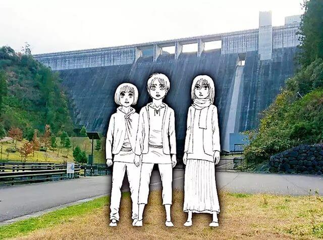 Attack on Titan – Estátuas serão expostas na cidade de Isayama