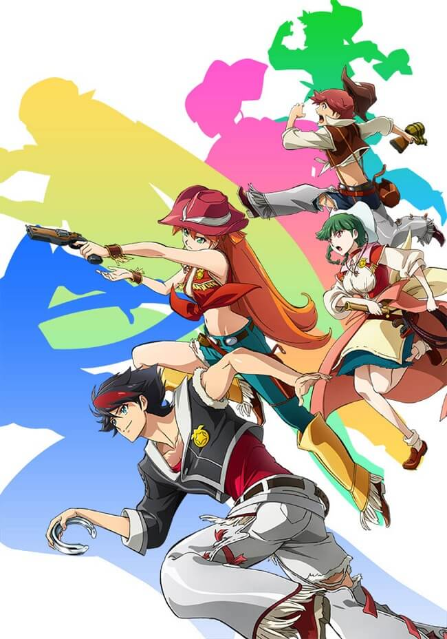 Back Arrow - Anime original revela primeiro Vídeo Promo